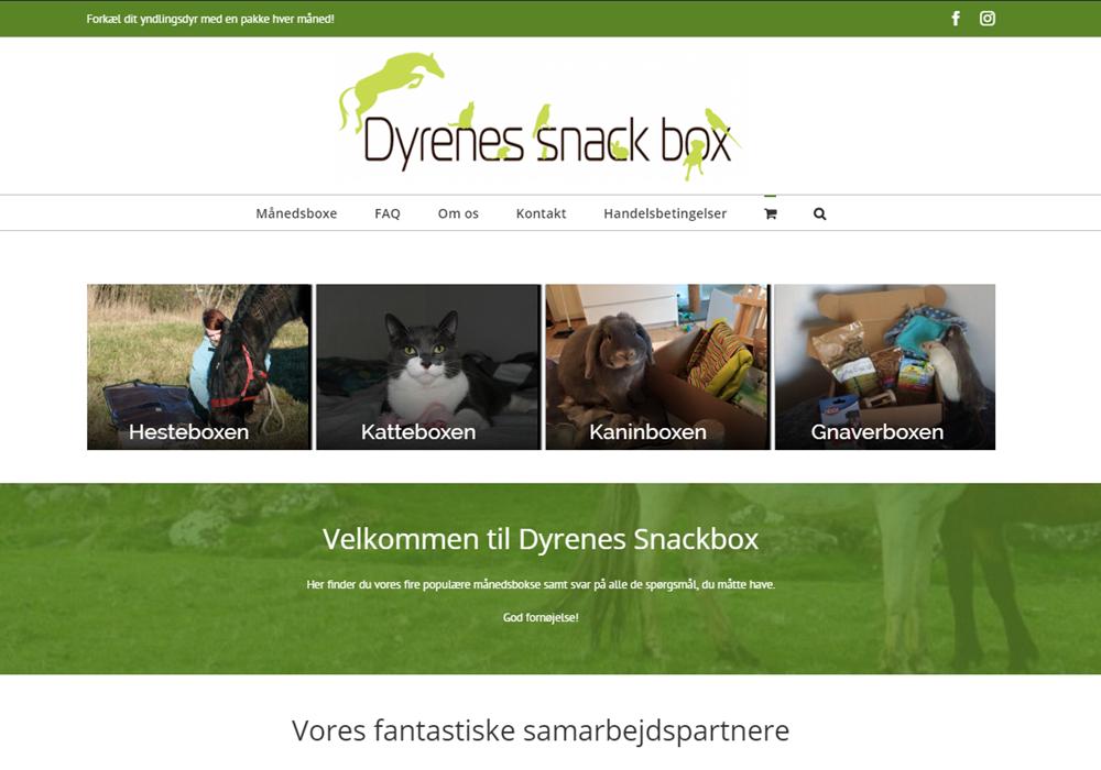 Dyrenes Snackbox