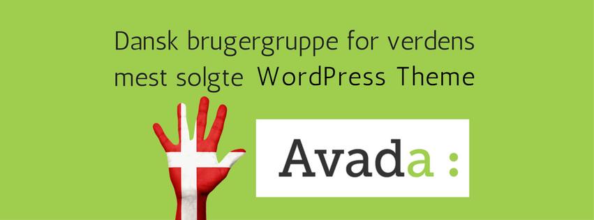 963561cd Der findes f.eks. en dansk brugergruppe til Avada-temaet, der er det mest  solgte på Themeforest: