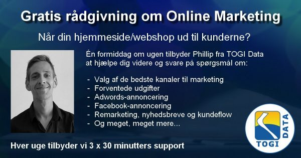 Rådgivning om online marketing