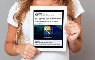Sådan får du vist et billede, når du deler dit website på Facebook